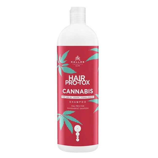 Kallos Regeneračný šampón Hair Pro-Tox Cannabis (Shampoo) 1000 ml