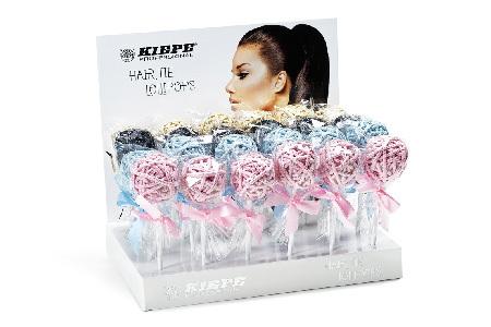 KIEPE Professional Gumičky do vlasů Lollipops Pink