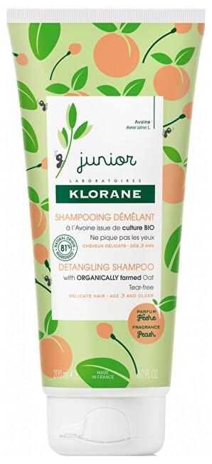 Klorane Detský šampón Junior (Detangling Shampoop) 200 ml