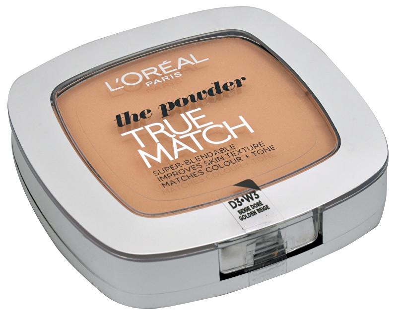 L´Oréal Paris Kompaktní pudr True Match (The Powder) 9 g N4 Beige