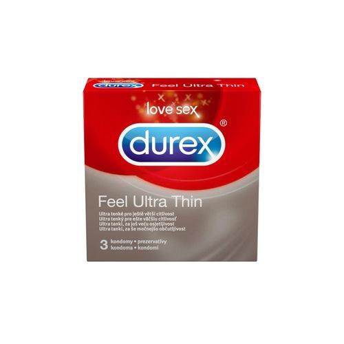 Durex Kondomy Feel Ultra Thin 3 ks
