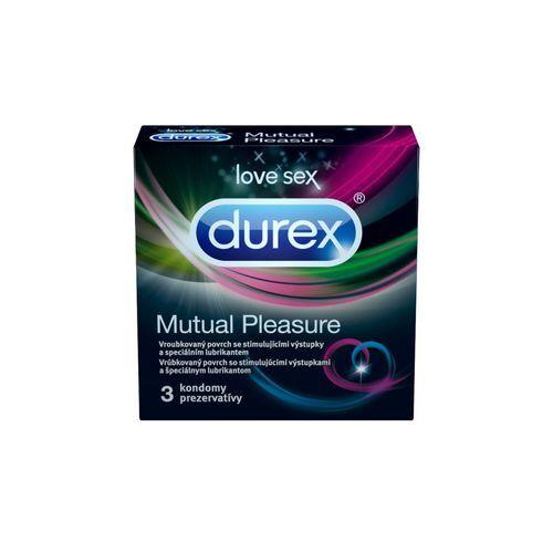 Durex Kondomy Mutual Pleasure - SLEVA - poškozená krabička 3 ks