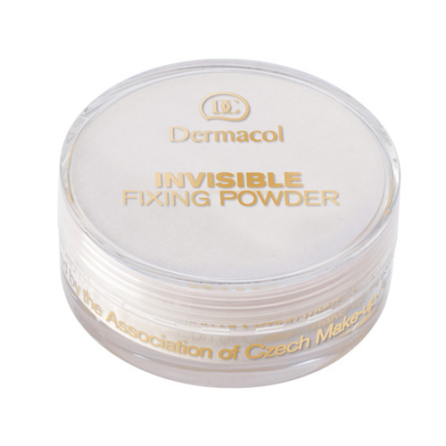 Fotografie Dermacol Lehký fixační pudr (Invisible Fixing Powder) 13,5 g Natural