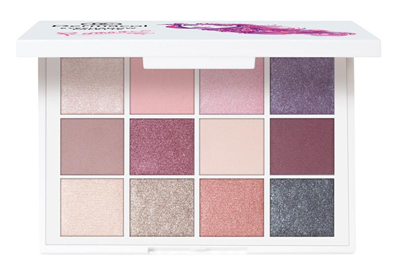 Dermacol Luxusní paletka očních stínů (Luxury Eyeshadow Palette) 18 g Drama