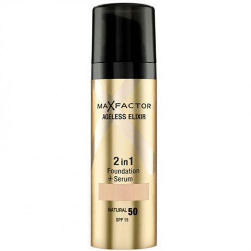 Max Factor Make-up a sérum 2 v 1 Ageless Elixir 30 ml 80 Bronze