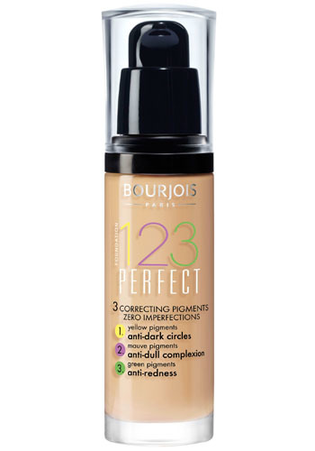 Bourjois Make-up pro perfektní pleť SPF 10 (123 Perfect) 30 ml 52 Vanille