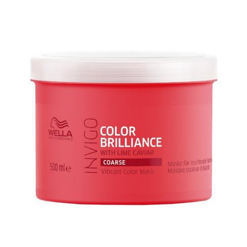 Wella Professionals Maska pro hrubé barvené vlasy Invigo Color Brilliance (Vibrant Color Mask) 30 ml