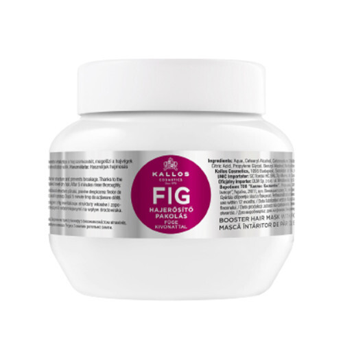 Kallos Maska pro oslabené vlasy a roztřepené konečky Fig (Mask) 275 ml