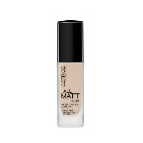 Catrice Matující make-up All Matt Plus (Shine Control Make-up) 30 ml 010 Light Beige