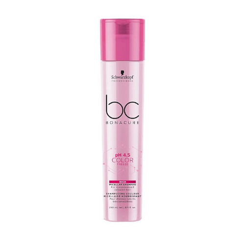 Schwarzkopf Professional Micelárny šampón na farbené vlasy pH 4.5 BC Bonacure (Color Freeze Shampoo) 250 ml