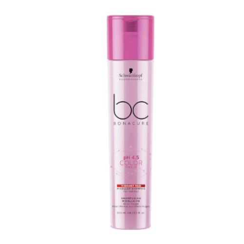 Schwarzkopf Professional Micelárny šampón pre červené odtiene vlasov pH 4,5 BC Bonacure Color Freeze (Micellar Shampoo Vibrant Red) 250 ml