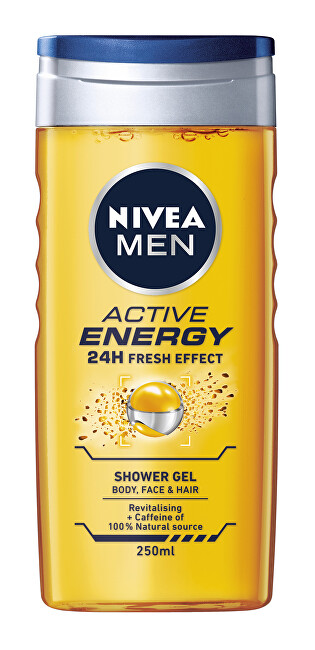 Nivea Sprchový gél Nivea Men Active Energy (Shower Gel) 250 ml