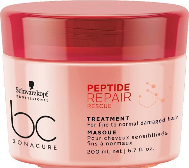 Schwarzkopf Professional Obnovující maska pro poškozené vlasy BC Bonacure Repair Rescue Peptide (Treatment) 200 ml