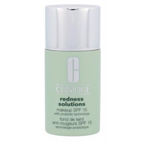 Clinique Ochranný make-up proti zarudnutí pleti SPF 15 Redness Solutions (Makeup SPF 15 With Probiotic Technology) 30 ml Neutral