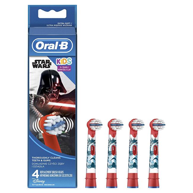 Oral B Náhradné kefkové hlavice Kids Star Wars EB 10 4 ks