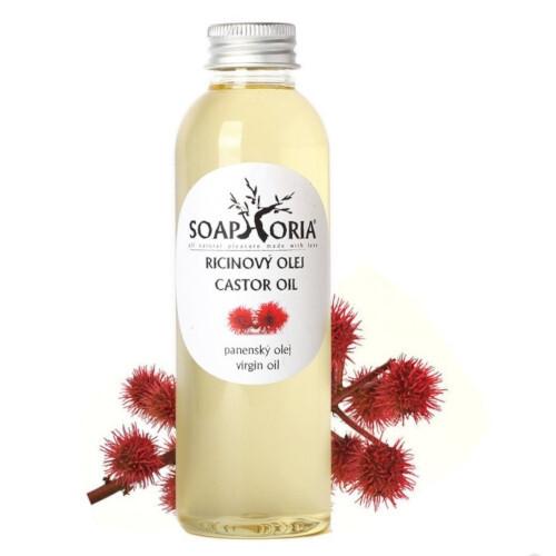 Soaphoria Organický kozmetický olej Ricínový (Castor Oil) 150 ml
