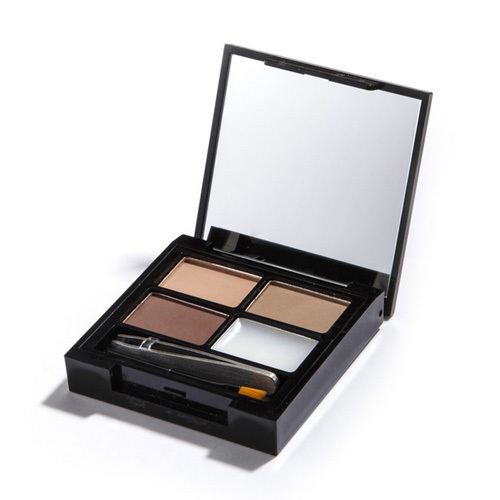 Makeup Revolution Paletka na úpravu obočí Focus & Fix Brow Kit (EyeBrow Shaping Kit) Light Medium
