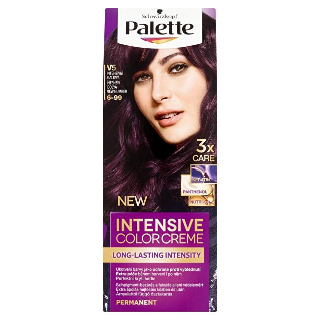 Schwarzkopf Permanentná farba na vlasy Palette Intensive Color Creme 5-0 (N4) Světle hnědý