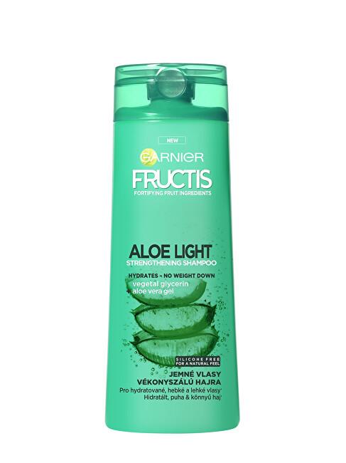Garnier Posilňujúci šampón s aloe vera na jemné vlasy Fructis (Aloe Light Strength ening Shampoo) 400 ml