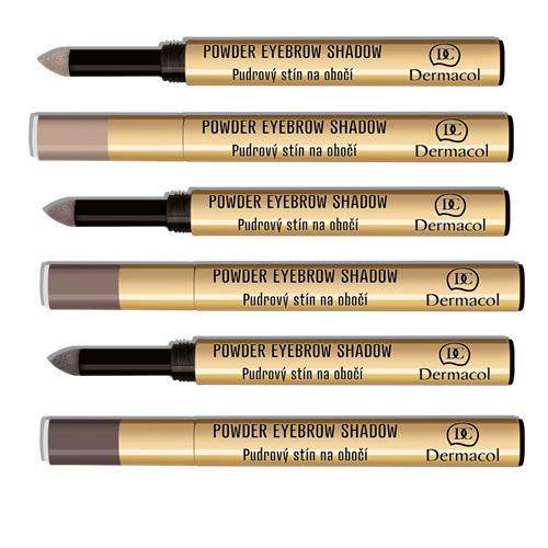 Dermacol Pudrové stíny na obočí (Powder Eyebrow Shadow) 1 g č. 3