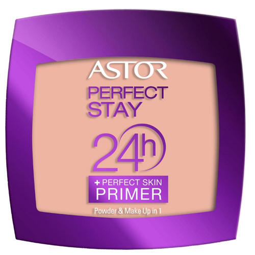Astor Pudrový make-up 2 v 1 Perfect Stay 24H (Make-Up 1 Powder perfect skin Primer) 7 g 102 Golden Bridge