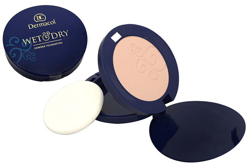 Dermacol Pudrový make-up WET & DRY 6 g č. 2