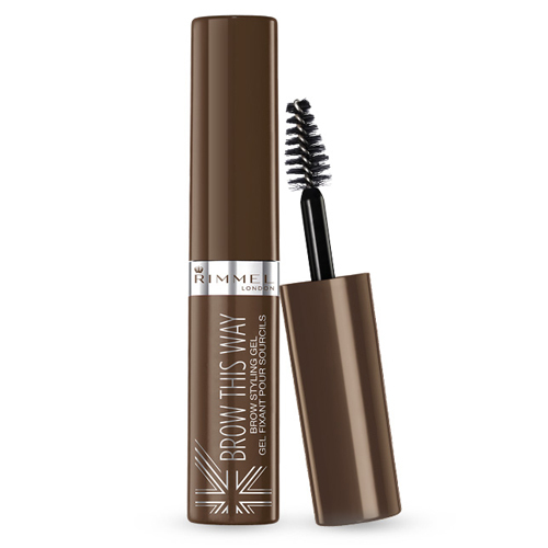 Rimmel Řasenka pro úpravu obočí Brow This Way (Brown Styling Gel) 5 ml 004 Clear