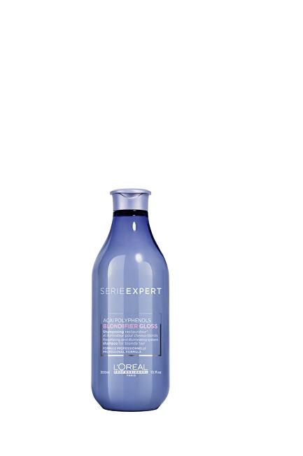 L´Oréal Professionnel Regenerační a rozjasňující šampon pro blond vlasy Série Expert Blondifier (Gloss Shampoo) 300 ml