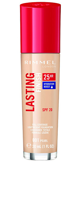 Rimmel Hydratačný make-up SPF 20 Lasting Finish 25H 30 ml 050