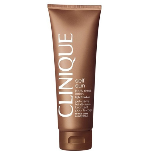 Clinique Samoopalovací tělové mléko Self Sun (Body Tinted Lotion) 125 ml Medium Deep