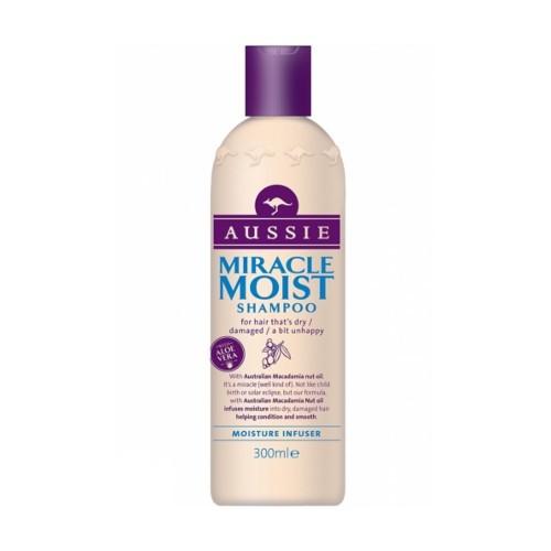 Aussie Šampón pre suché a poškodené vlasy Miracle Moist (Shampoo)