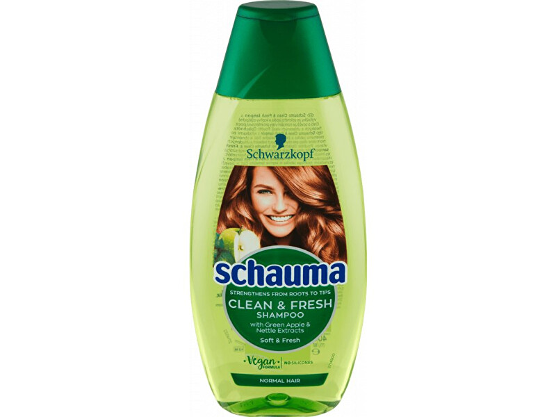 Schauma Šampón pre normálne vlasy ( Clean & Fresh Shampoo) 400 ml