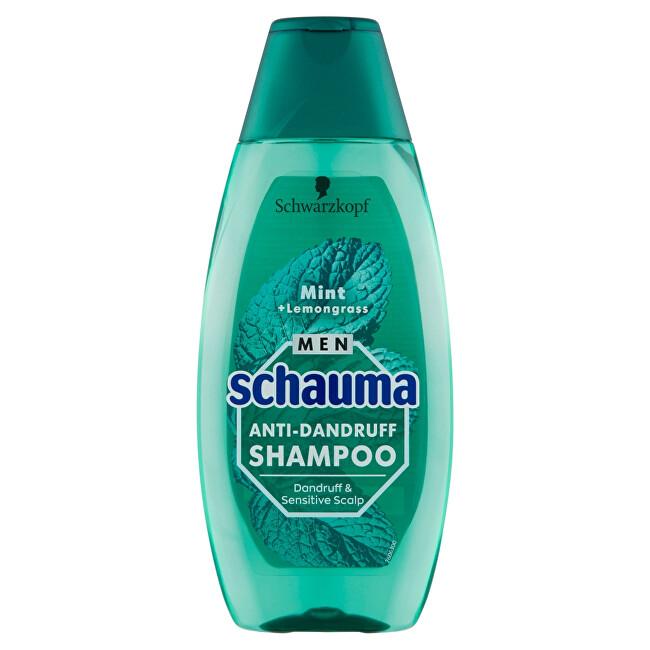 Schauma Šampón proti lupinám pre mužov Mint + Lemongrass (Anti-Danduff Shampoo) 400 ml