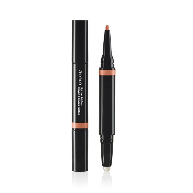 Shiseido Konturovací tužka na rty s balzámem Lipliner InkDuo 1,1 g 04 Rosewood