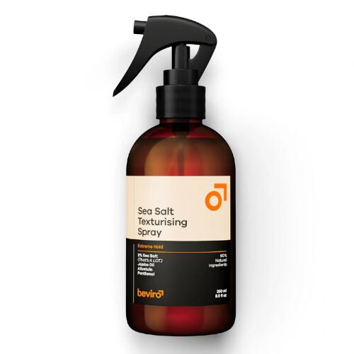 Beviro Slaný texturizační sprej na vlasy Sea Salt Texturising Spray Extreme Hold 250 ml