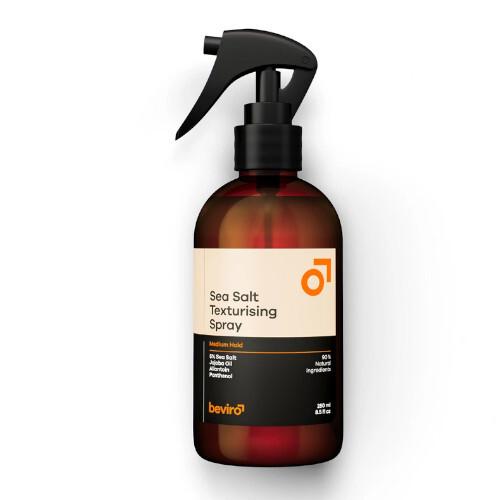 beviro Slaný texturizační sprej na vlasy Sea Salt Texturising Spray Medium Hold 250 ml
