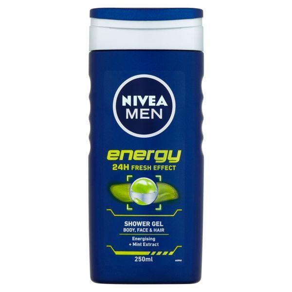 Nivea Sprchový gél pre mužov Energy 250 ml