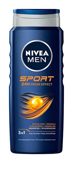 Nivea Sprchový gél pre mužov Sport 250 ml