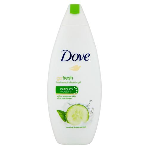 Dove Sprchový gél s vôňou uhorky a zeleného čaju Go Fresh (Fresh Touch Shower Gel) 250 ml