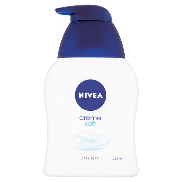 Nivea Tekuté krémové mydlo Creme Soft 250 ml