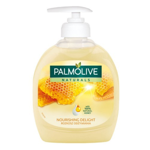 Palmolive Tekuté mýdlo s výtažky z mléka a medu Naturals (Nourishing Delight Milk & Honey) 300 ml