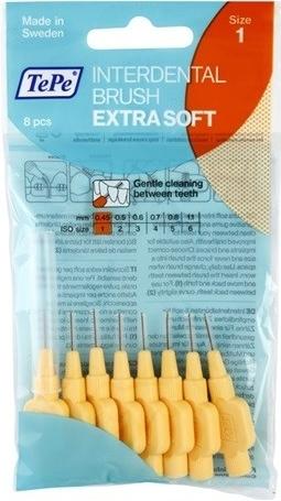 TePe Mezizubní kartáčky Exra Soft 8 ks 1,1 mm fialový