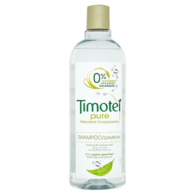 Timotei Šampon Čistota pro normální až mastné vlasy Pure (Shampoo) 400 ml