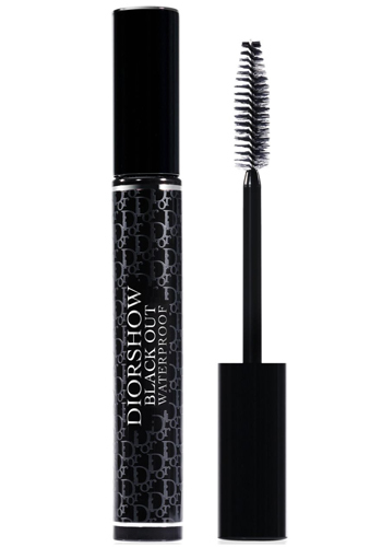 Dior Voděodolná objemová řasenka Diorshow Black Out Waterproof (Spectacular Volume Intense Black-Kohl Mascara) 10 ml 099 Black Khol