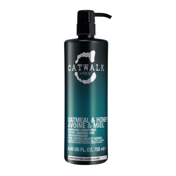 Tigi Vyživující kondicionér na suché a poškozené vlasy Catwalk Oatmeal & Honey (Nourishing Condition