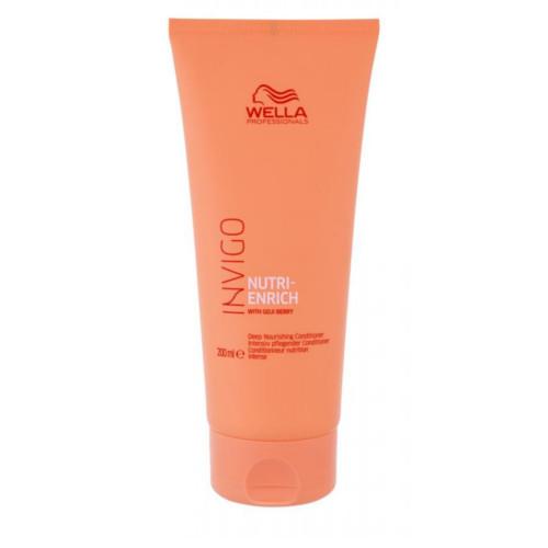 Wella Professionals Vyživujúci kondicionér pre suché a poškodené vlasy Invigo Nutri- Enrich (Deep Nourishing Conditioner) 200 ml