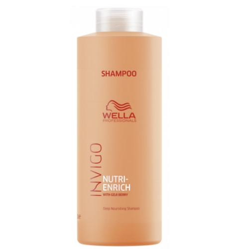 Wella Professionals Vyživujúci šampón pre suché a poškodené vlasy Invigo Nutri- Enrich (Deep Nourishing Shampoo) 1000 ml