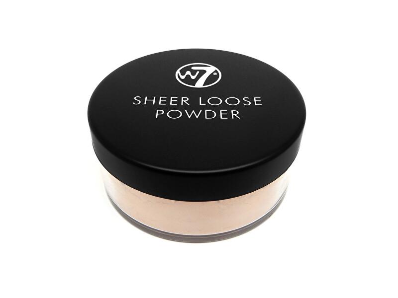 W7 Cosmetics Sypký pudr (Sheer Loose Powder) 16 g Ivory