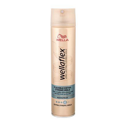 Wella Lak na vlasy s extra silnou fixáciou Wella flex Extra Strong Hold ( Hair spray) 250 ml