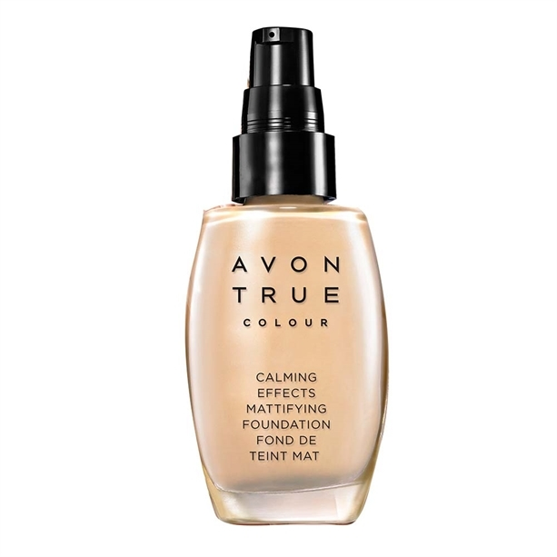 Avon Zklidňující make-up s matující složkou True Colour (Calming Effects Mattifying Foundation) 30 ml Ivory